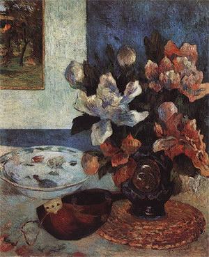 Paul Gauguin Still Life with Mandolin 1885