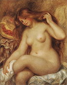 Pierre Auguste Renoir Blonde Bather 1903-05