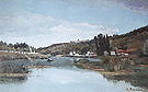 Camille Pissarro The Bank of the Marne at Chennevieres 1834-40
