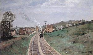 Camille Pissarro Lordship Lane Dulwich 1871