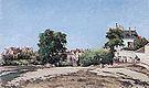 Camille Pissarro The Crossroads Pontoise (Place du Vieux Cimitiere) 1872