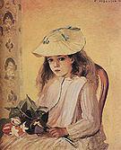 Camille Pissarro Portrait of Jeanne 1872
