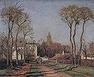 Camille Pissarro The Entrance to the Village of Voisins 1872