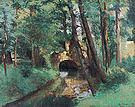 Camille Pissarro The Little Bridge Pontoise 1875