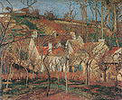 Camille Pissarro The Red Roofs Corner of a Village Winter 1877