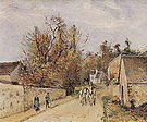 Camille Pissarro The Diligence on the Road from Ennery to l'Hermitage Pontoise 1877