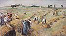 Camille Pissarro The Harvest 1882