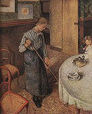 Camille Pissarro The Little Country Maid 1882