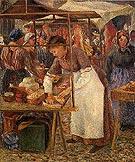 Camille Pissarro The Pork Butcher 1883