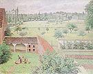 Camille Pissarro View from my Window Eragny c1886