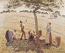 Camille Pissarro The Apple Pickers Eragny 1888