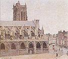Camille Pissarro The Church of Saint-Jacques Dieppe 1901