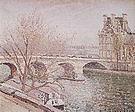 Camille Pissarro The Pont Royal and the Pavillon de Flore Paris 1903