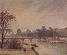 Camille Pissarro The Seine and the Louvre Paris 1903