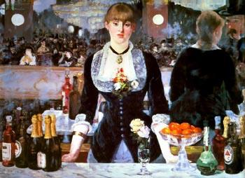 Edouard Manet A Bar at the Folies-Bergere Edouard Manet 1881-82