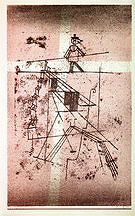 Paul Klee The Tightrope Walker 1923