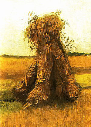 Vincent van Gogh Sheaves of Wheat 1885