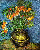 Vincent van Gogh Flowers (Fritillaries) in a Copper Vase 1887