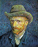 Vincent van Gogh Self-Portrait with Grey Felt Hat 1887
