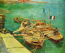 Vincent van Gogh Unloading Sand 1888