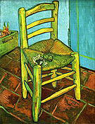 Vincent van Gogh The Yellow Chair 1888-1889