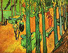 Vincent van Gogh The Aliscamps at Arles 1888