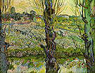 Vincent van Gogh View of Arles with Orchards 1889