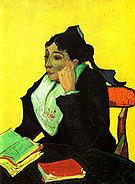 Vincent van Gogh Madame Ginoux (L'Arlesienne) 1888
