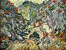 Vincent van Gogh The Ravine 1889