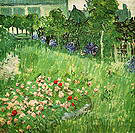 Vincent van Gogh Daubigny's Garden at Auvers 1890