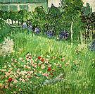 Vincent van Gogh Daubigny's Garden at Auvers 1890