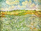 Vincent van Gogh Landscape near Auvers Wheatfields 1890