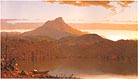 Hudson River School A Lake Twilight