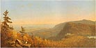 Hudson River School Catskill Mountain House 1862