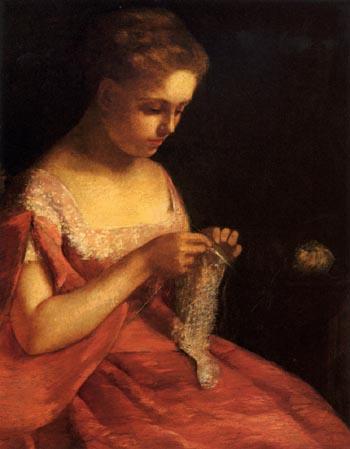 Mary Cassatt The Young Bride 1875