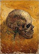 Vincent van Gogh A Skull c1887