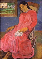 Paul Gauguin Melancholic 1891