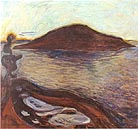 Edvard Munch The Island 1900-1901