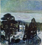 Edvard Munch White Night 1901