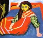 Ernst Ludwig Kirchner Seated Girl