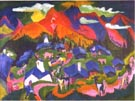 Ernst Ludwig Kirchner Return of the Animals Stefelalp 1919