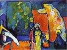 Wassily Kandinsky Improvisation 2 Funeral March 1909