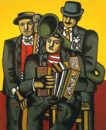 Fernand Leger Three Musicians