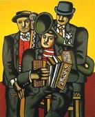Fernand Leger Three Musicians