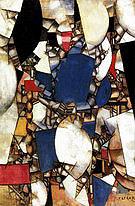 Fernand Leger La Femme en bleu (Woman in blue) 1912