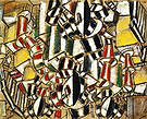 Fernand Leger L'Escalier The Staircase 1914