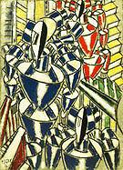 Fernand Leger Exit the Ballets Russes 1914