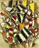 Fernand Leger Still Life Alarm Clock 1914