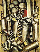 Fernand Leger Soldier with a Pipe 1916