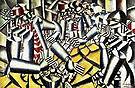 Fernand Leger The Card Game 1917